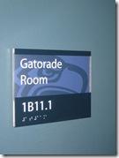 Gatorade Room