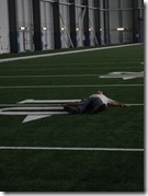 Aaron sleep 10 yard line